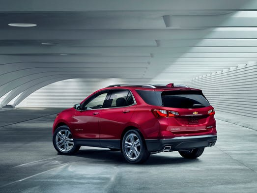 Chevrolet Equinox, one of the top selling  SUVs, is