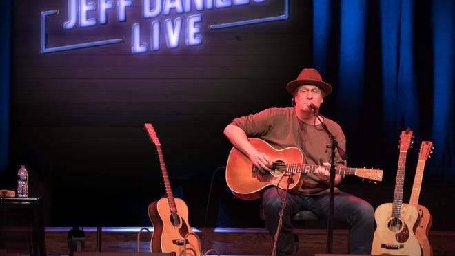 "Emmy award-winning actor, director, singer/song-writer Jeff Daniels returns to Tibbits Sunday, Sept. 20, this time in an online format customized for the opera house.  ""Jeff Daniels: Online and Unplugged"" tickets are $15 and available at Tibbits.org."