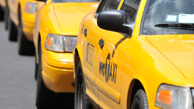 There are more than 13,000 licensed yellow taxicabs in New York City.