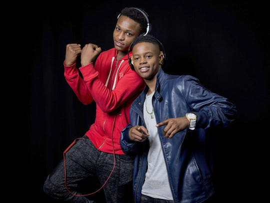 Silento (right) and DJ Grand will perform Sept. 26 at Lucas Oil Stadium.