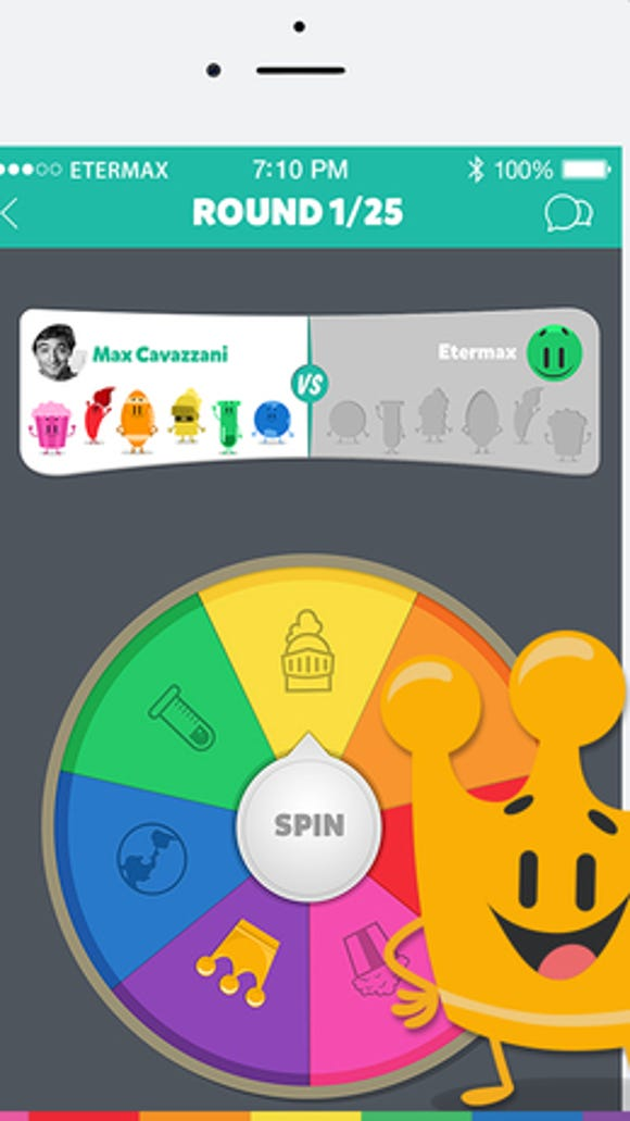 In Trivia Crack, players collect characters across