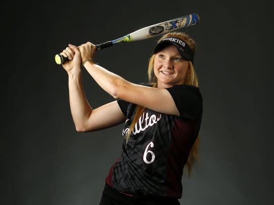 Abby Andersen, junior softball player from Chandler
