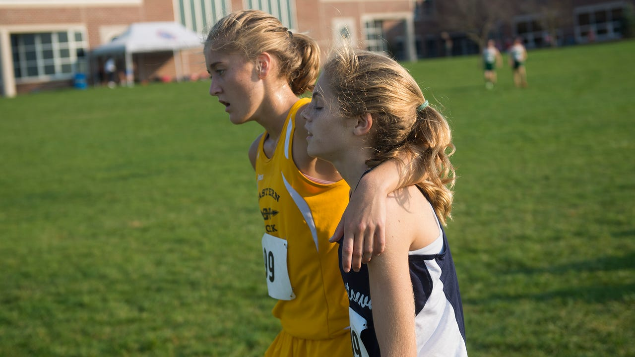 Maddie McLain from Eastern York and Emily Schuler from Dallastown aren't friends or division rivals, but have formed a relationship based on skill and respect.