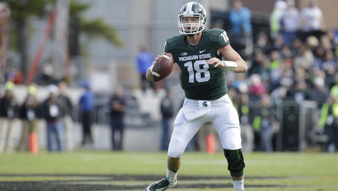 Even Connor Cook is surprised how highly MSU's staff thought of him as a high school quarterback.