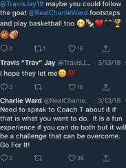 FSU football and basketball great Charlie Ward tells