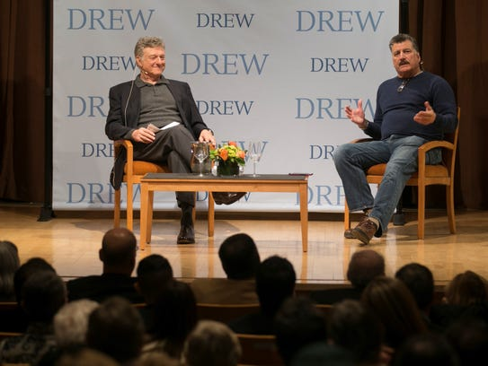 Ira Berkow interviews Keith Hernandez at Drew University.