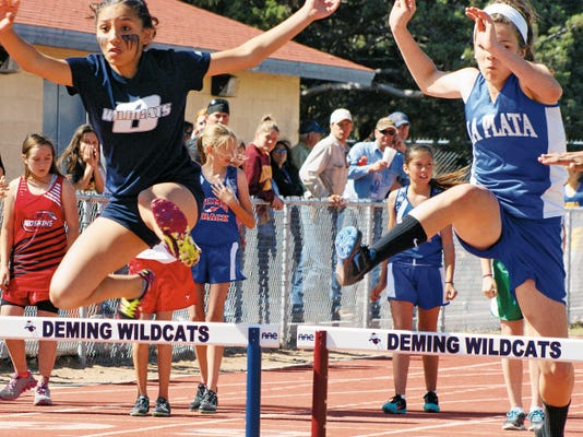 Red Mountain Middle School track and field athletes  hosted their annual home meet last Thursday at Deming High School Memorial Stadium. Student athletes in grades seventh and eighth competed in the traditional track and field events, with schools visiting from neighboring towns.
