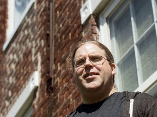 After 17 years in Los Angeles, a health issue with a family member motivated Jonathan Merkel to move to Hopewell Township, into a house across the street from where his parents live.