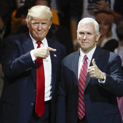 Don't confuse Trump with his normal veep