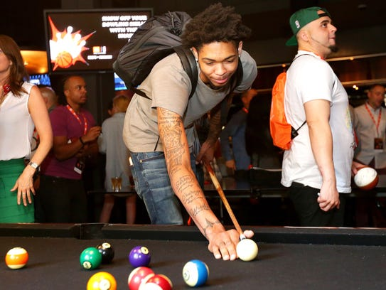 Nba Bound Brandon Ingram Cool On The Surface Fiery Beneath It