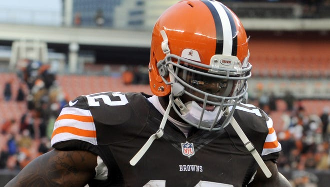Browns WR Josh Gordon only needed 14 games to lead the NFL in receiving last year.