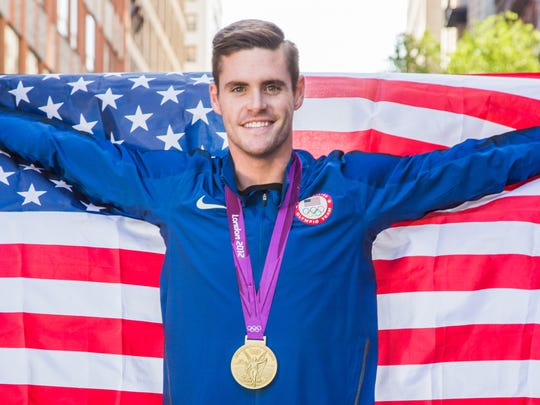 Four-time Olympic medalist David Boudia,