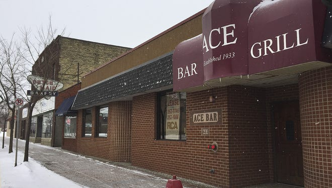The former Ace Bar and Grill is on a block of buildings developer Bob Abel wants to raze and redevelop.