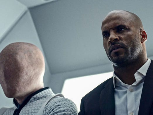 Shadow Moon (Ricky Whittle) is introduced to all manners