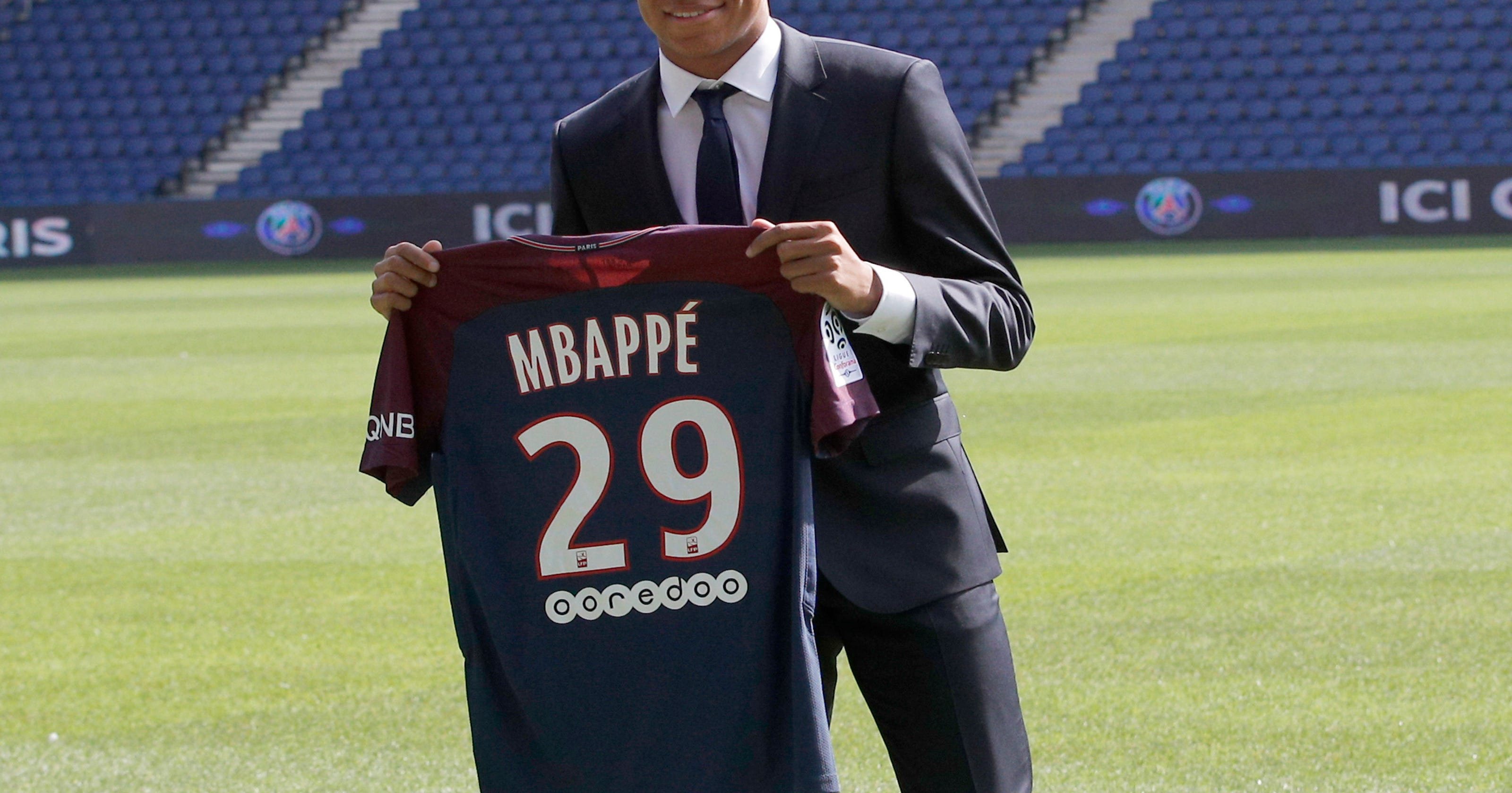 newest b42e8 af0d4 Mbappe wants to 'win everything' with PSG _ starting now
