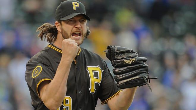 Pirates relief pitcher Jason Grilli.