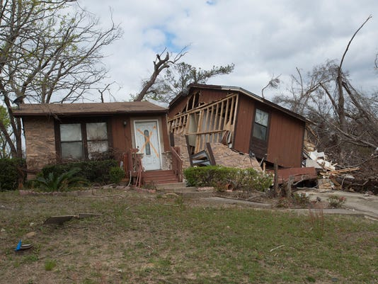 Pensacola Tornado One Month After