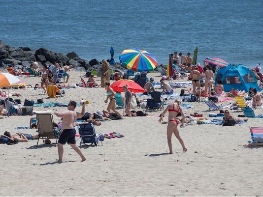 Long Branch beach