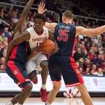 UA men's basketball at Stanford