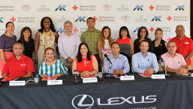 The American Red Cross Guam Chapter announce the 18th Annual Red Ball at the Atkins Kroll, Toyota Showroom in Tamuning on July 10, 2018.