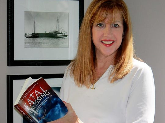 Valerie van Heest has written numerous books and articles about shipwrecks in Lake Michigan as well as the 1950 crash of a DC4 airliner.