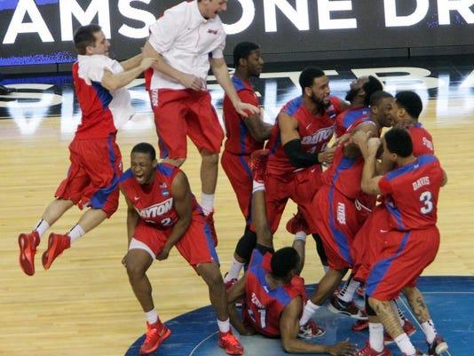 NCAA Dayton Ohio State Basketball