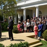 2015 Teachers of the Year at the White House