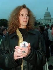 Tanya Brown, sister of Nicole Brown Simpson, in October