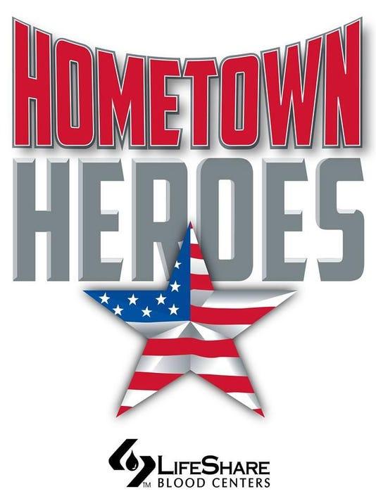 Hometown heroes blood drive