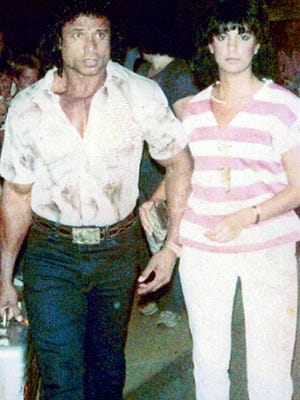Jimmy Snuka and his former girlfriend, Nancy Argentino.