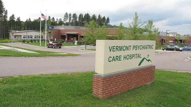 Friday photo shows the Vermont Psychiatric Care Hospital in Berlin that was constructed following the flooding from Tropical Storm Irene. The new hospital replaces the Vermont State Hospital in Waterbury, which was deemed unusable after the storm. Five years after flooding from Tropical Storm Irene forced the closing of the Vermont State Hospital in Waterbury, much of the system has been rebuilt, but challenges remain.