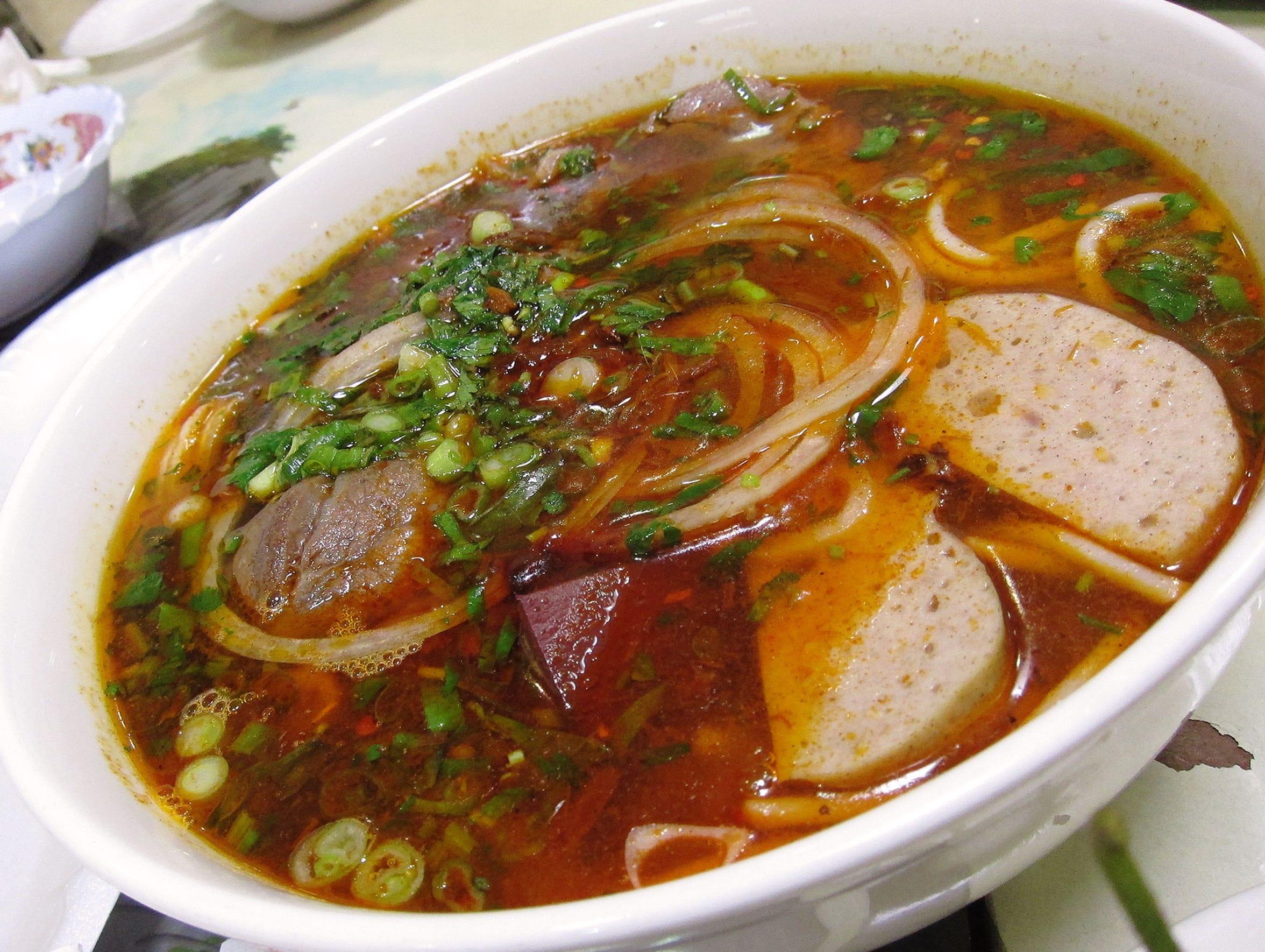 Bun Bo Hue at Hue Gourmet in Mesa.