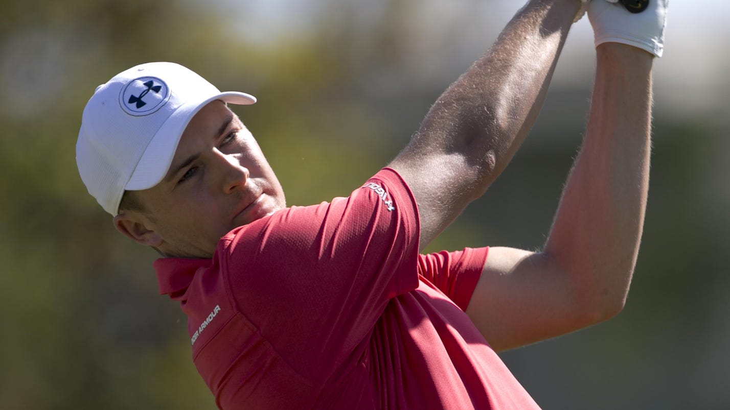 Wednesday's golf: Less thinking on Speith's mind