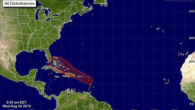 A tropical wave could impact Southwest Florida early next week.