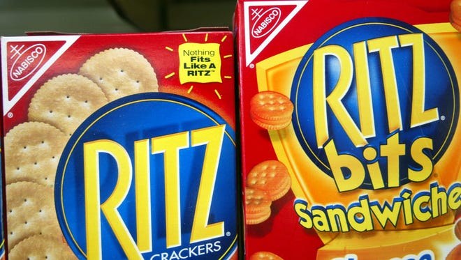 Following a recall, people are urged to throw out certain Ritz products that may be affected with Salmonella.