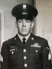 Forrest Wilburn served in the US Army as a mortarman