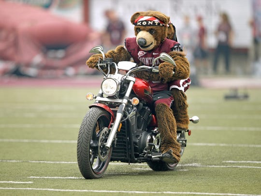Montana mascot Monte is cooler than you will ever be.