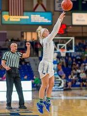 Four FGCU regulars shoot over 38 percent from behind the 3-point line led by fifth-year senior Jessica Cattani's gaudy 46.2 percentage.