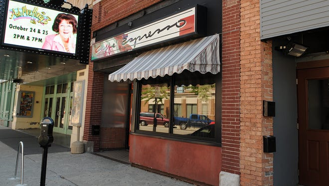 Caffe Espresso in downtown Green Bay will close after business on Saturday in preparation for a new owner.