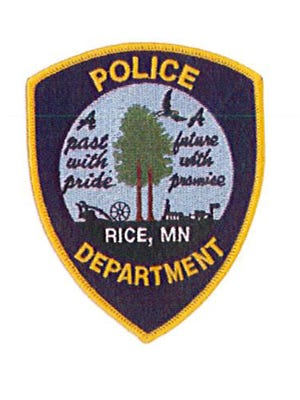 Rice Police Department patch or badge.
