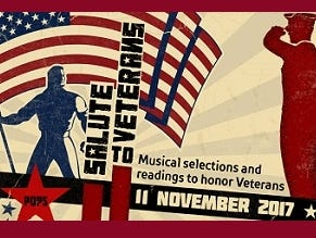 Enter to win four (4) tickets to Salute to Veterans 10/9 -11/3.