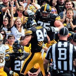 Iowa takeaways: Tough finishes for Boettger, Myers; Ferentz hints at lineup change