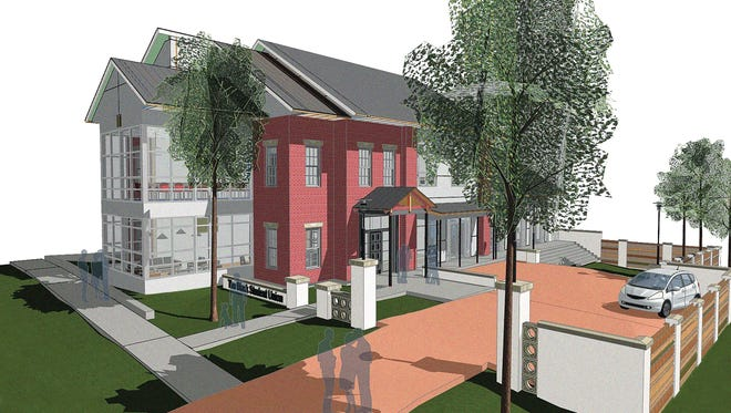 This rendering shows the new home for FSU's Black Student Union at 921 W. Jefferson St.