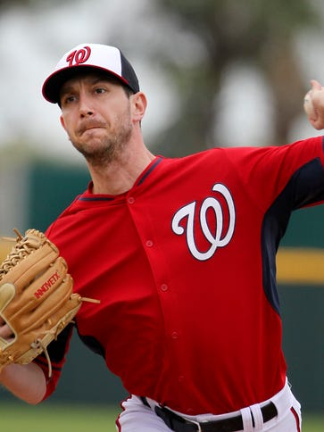 Jerry Blevins struck out Bryce Harper on three pitches