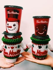 Tim Hortons introduces holiday cups.