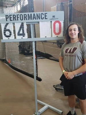 Woonsocket's Jesse Houle didn't know what a shot or hammer was as a freshman. By senior year, he had become one of the top throwers in the state and earned himself a scholarship to compete for Walsh University.