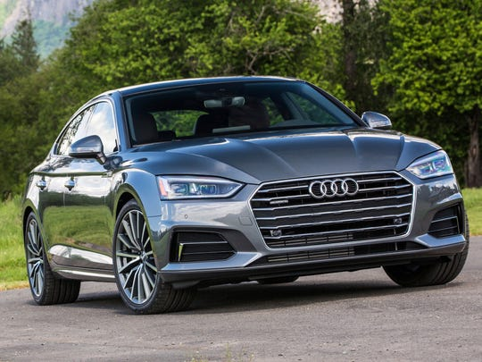 This photo provided by Audi shows the 2018 Audi A5