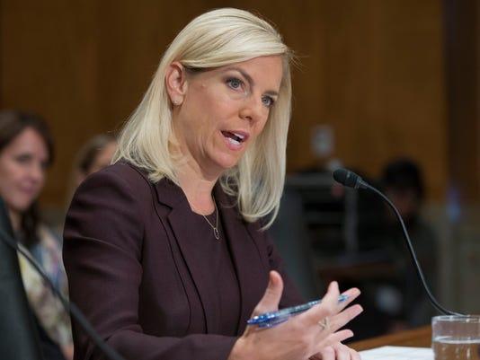 DHS nominee Kirstjen Nielsen
