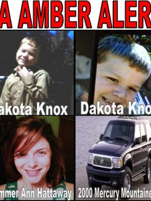 An Amber alert has been issued for Dakota Knox, 8.