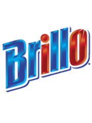 Brillo's logo has gotten more sparkly in the past 102